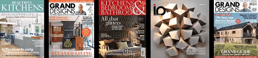 press interior design magazine features banner
