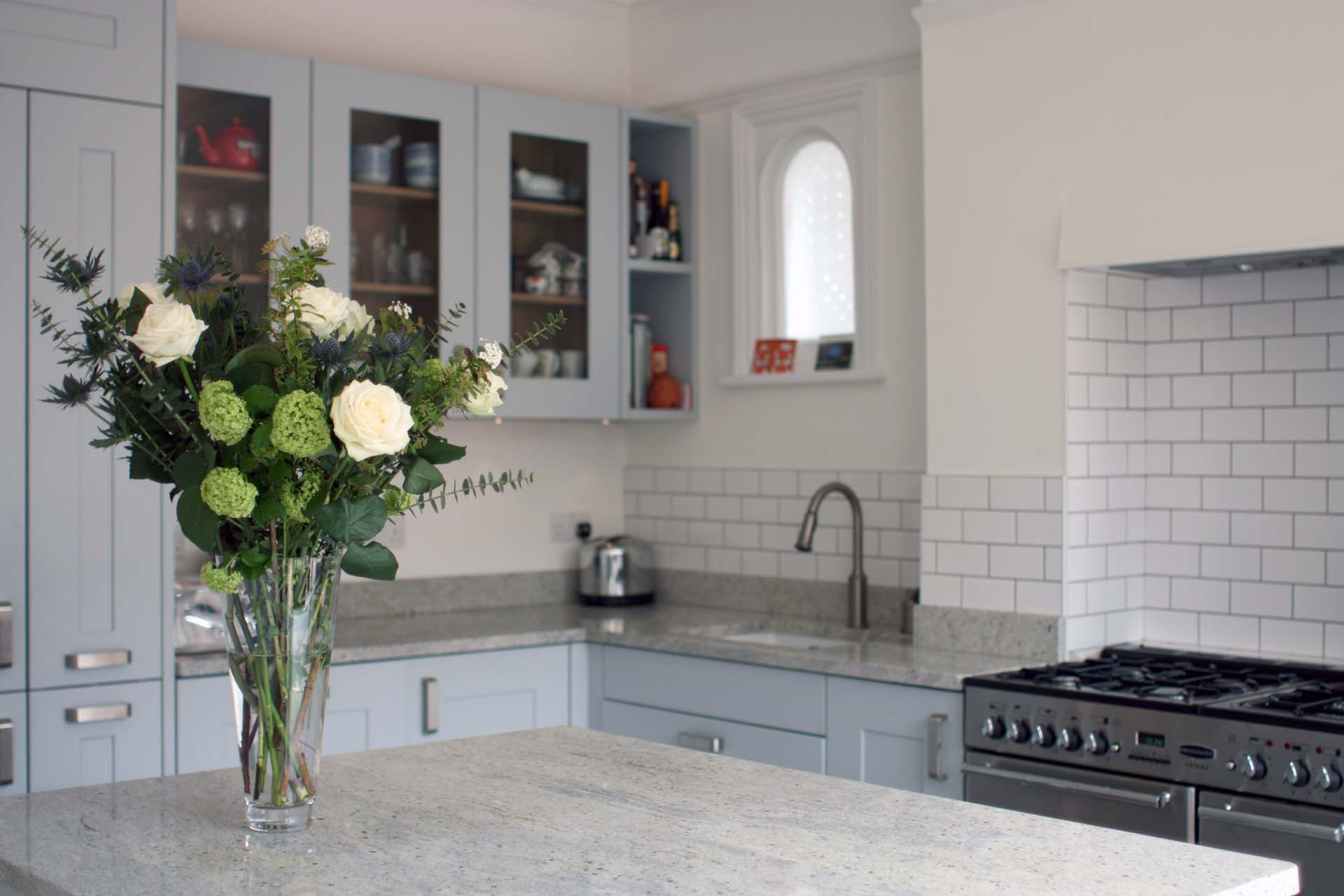 Open plan kitchen south west london residence interior for Interior design south london