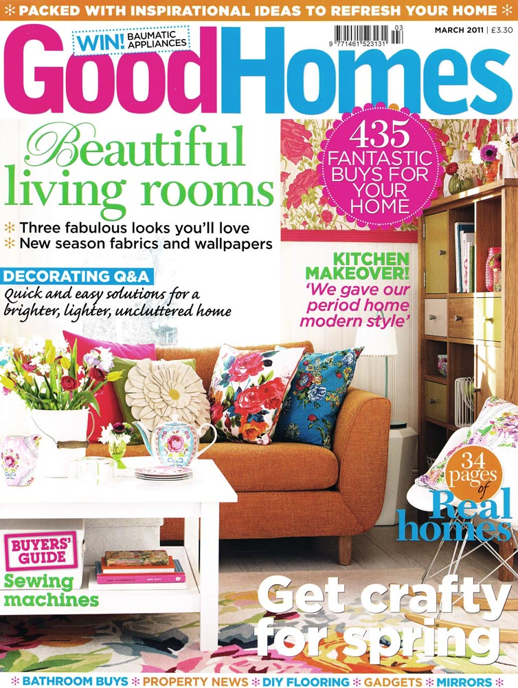 Good Homes March 2011 cover