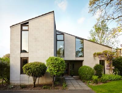 Exterior shot of Cambridgeshire interior design and refurbishment project