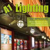 London lighting design published in A1 Lighting Magazine