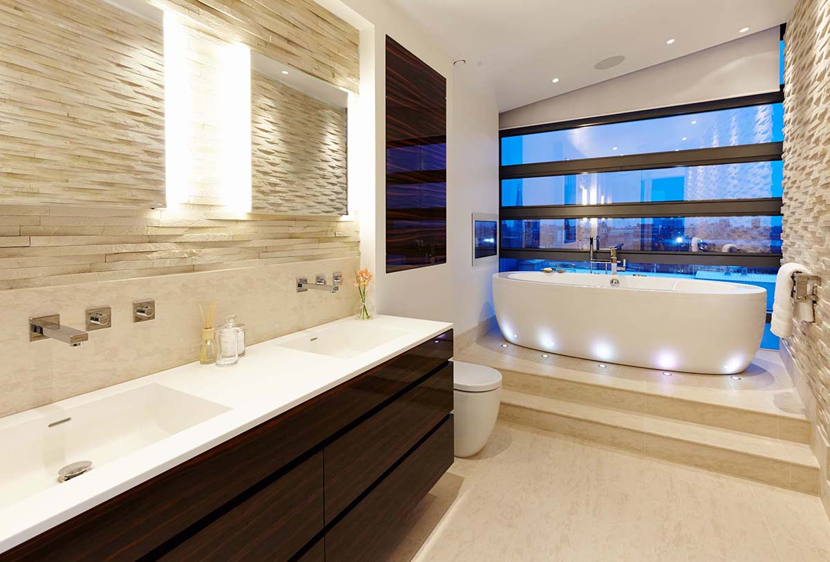 SBID Design Excellence Awards Finalist Master Bathroom