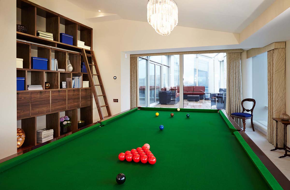 SBID Design Excellence Awards Finalist Games Room