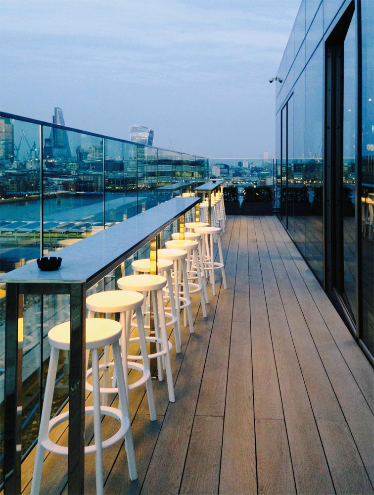 Mondrian Hotel London Rooftop Bar