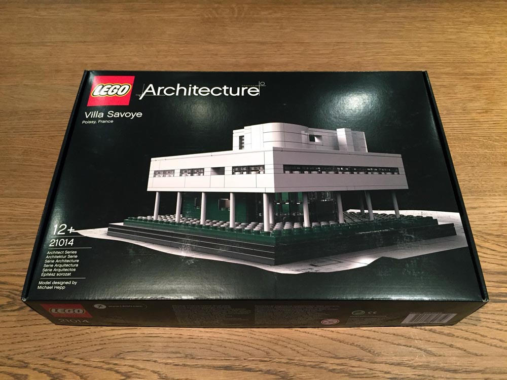 le corbusier lego design model 1