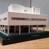Lego (again) and reflecting on the design of Le Corbusier