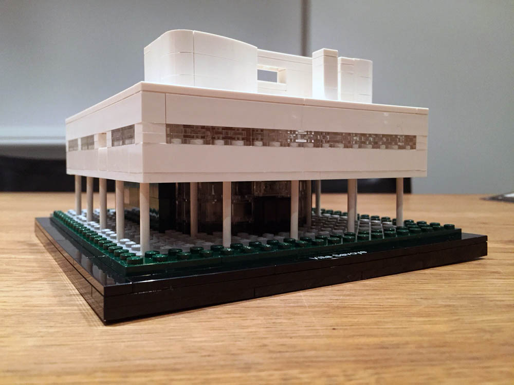 le corbusier lego design model 3