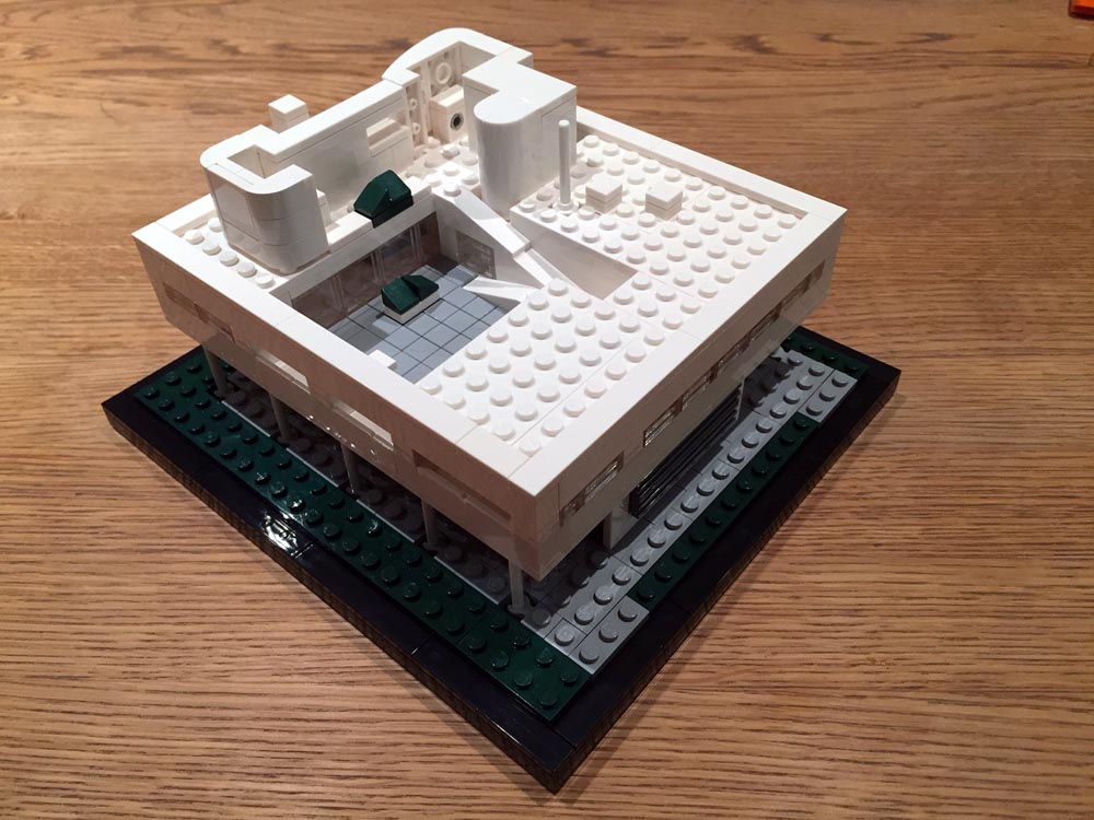 le corbusier lego design model 4