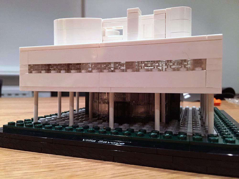 le corbusier lego design model 5