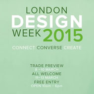 London Design Week 2015 Preview