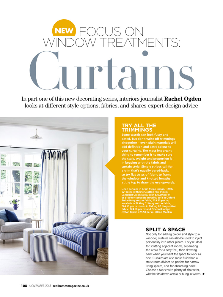 Real Homes Magazine November 2015 p1