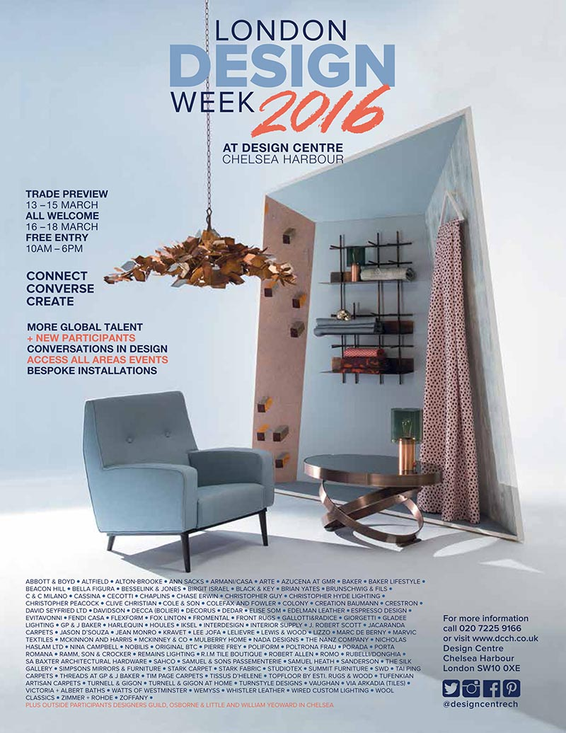 London Design Week Interiors 2016