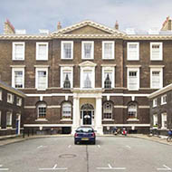 A 'set' in London's Albany is for sale