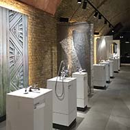 More from London's Mini Milan Bathroom Design Exhibition at CP Hart
