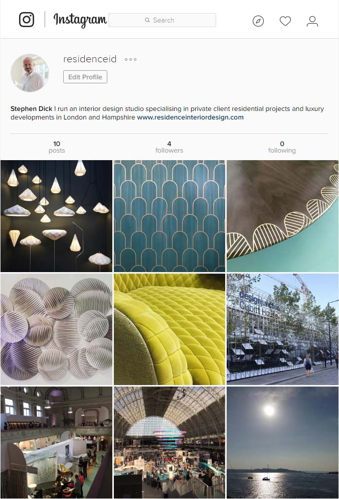 Residence Interior Design on Instagram