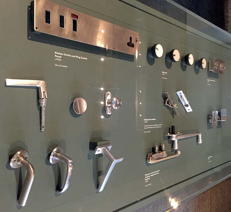 barbican ironmongery specification and display