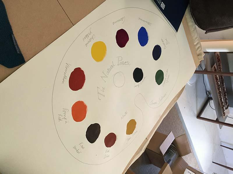 natural paint design colour palette