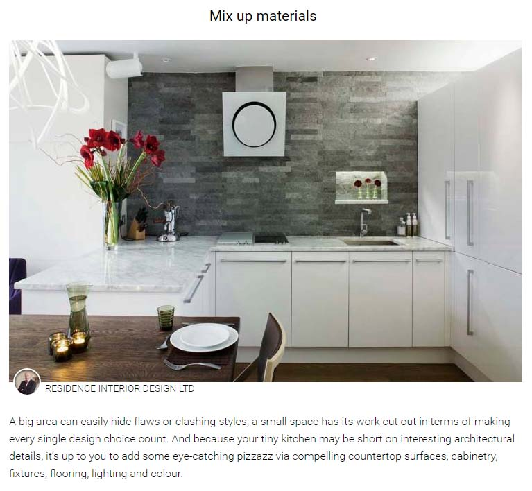 Our striking london kitchen design is featured by homify for London kitchen decor
