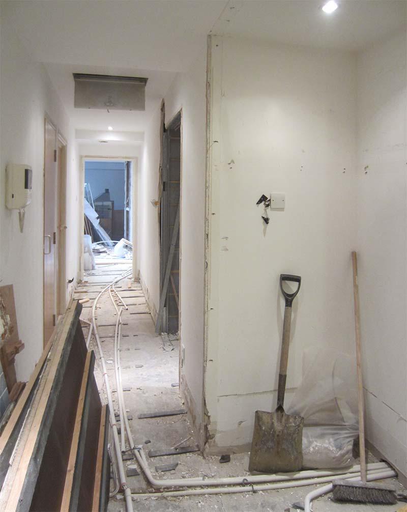 london farringdon hallway interior design
