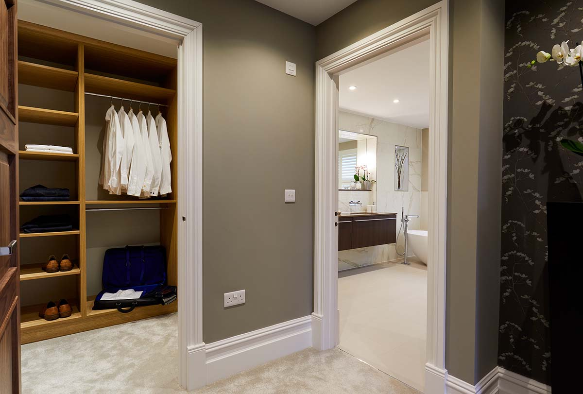 Winchester Hampshire Master Suite Interior Design