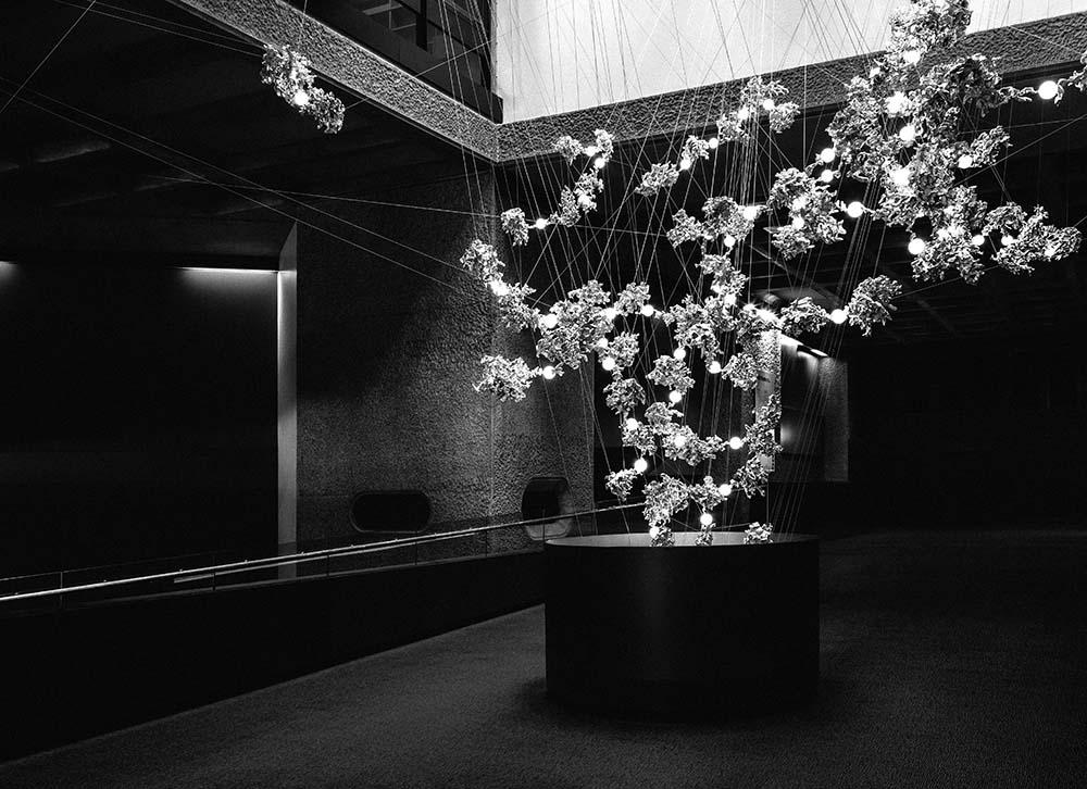stunning lighting. Beautiful Lighting Barbican London Lighting Design Interior To Stunning D