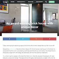 Our modern home interior design project is featured by Homify
