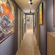 Three key steps to designing an interior around artworks