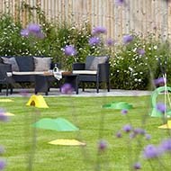 Dreaming about our garden landscape design in Hampshire...
