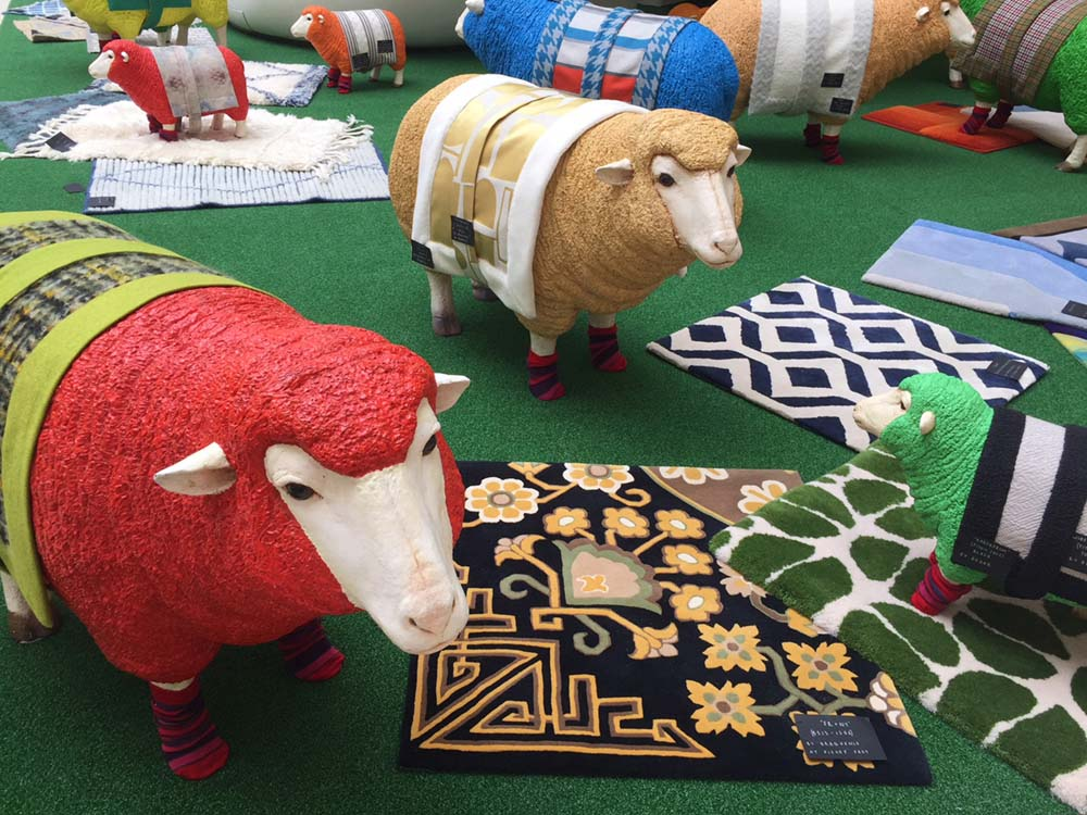 wool week design fabrics at london chelsea