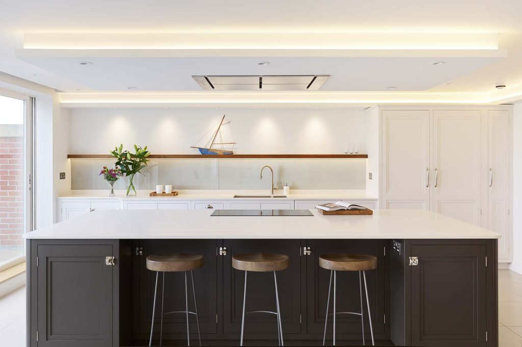 Hamble Hampshire timber kitchen design