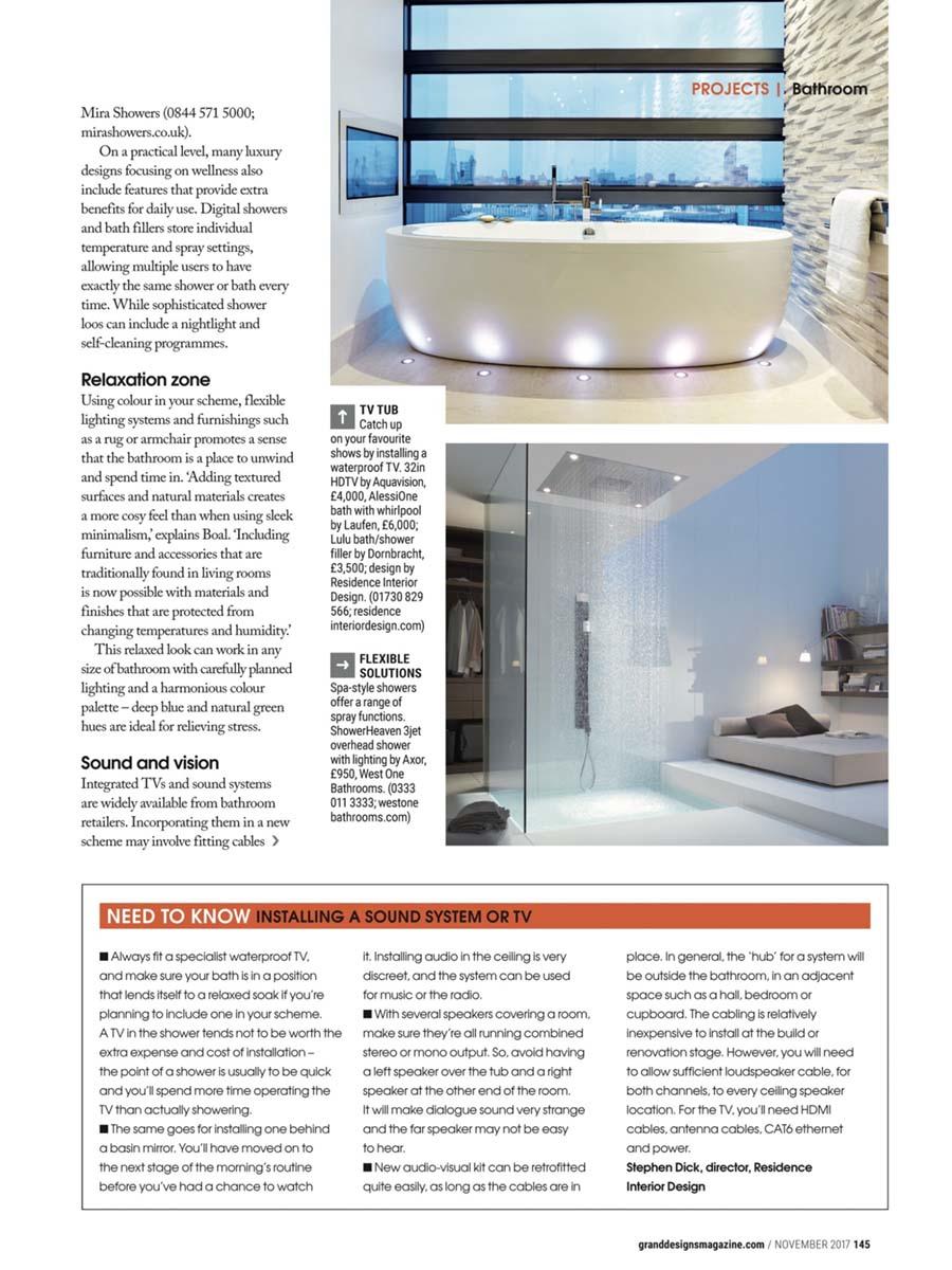 grand designs london bathroom av project