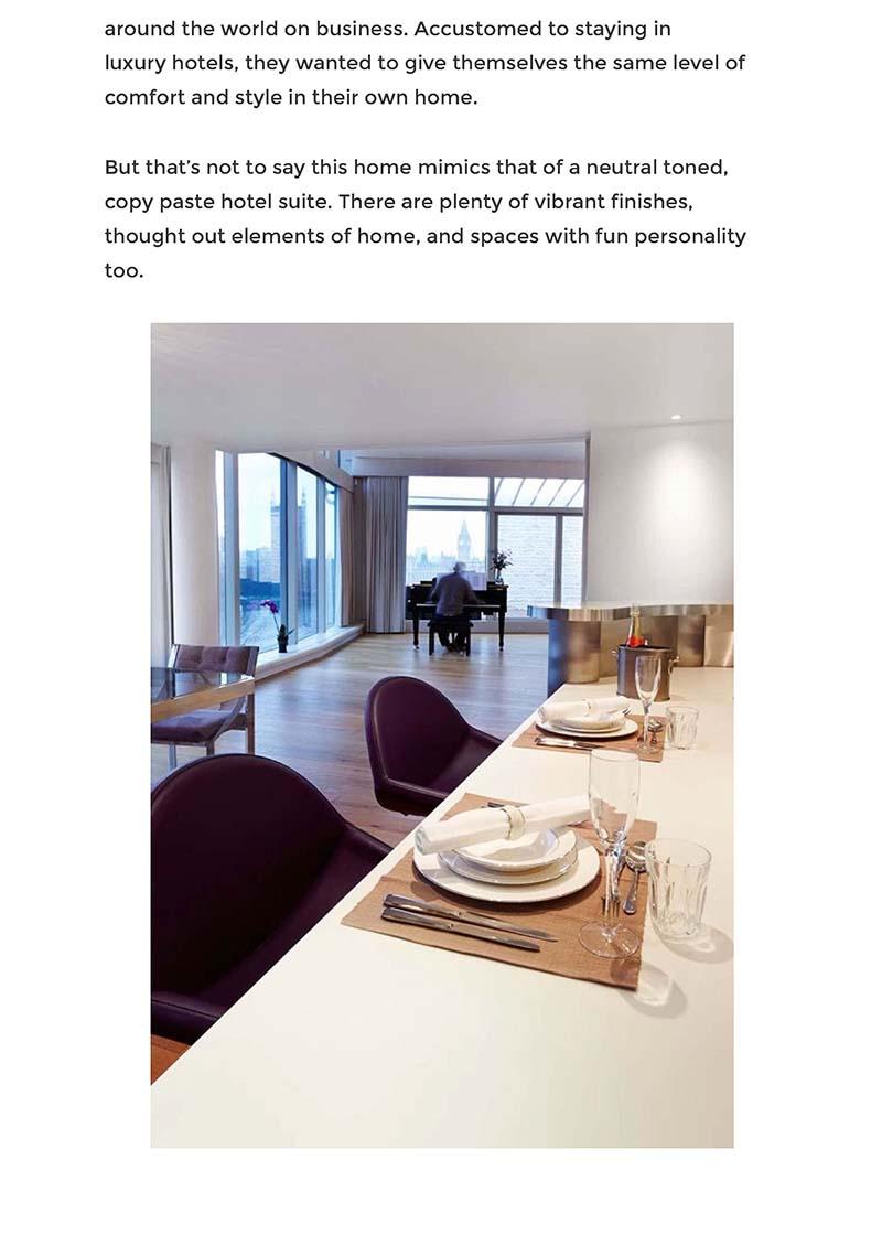 nonagon style london apartment interior design p2