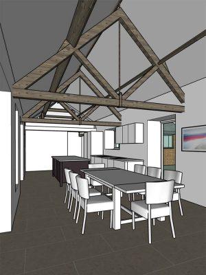 surrey kitchen design 3d model