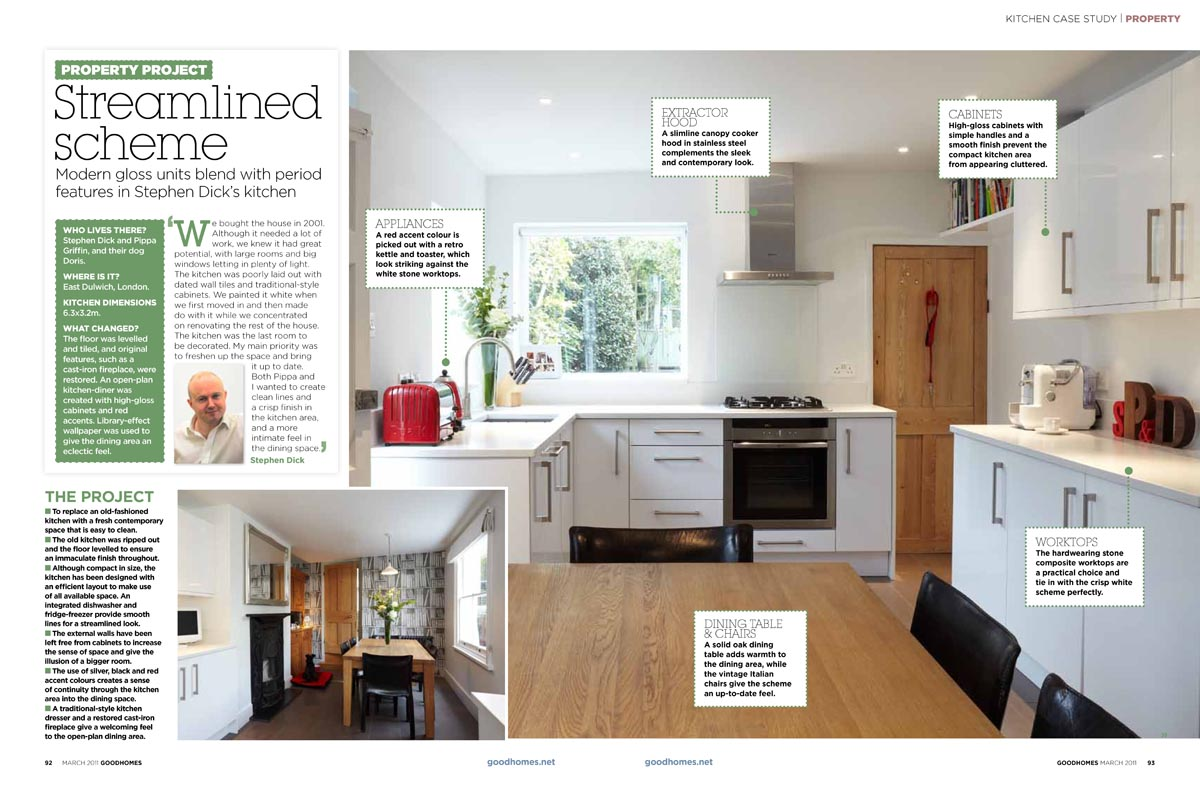 Good Homes Kitchen Design London page1