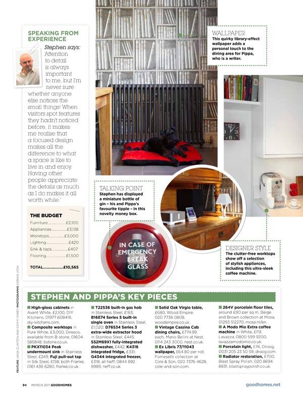 Good Homes Kitchen Design London page2