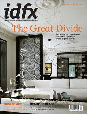 idfx Magazine February 2012 cover