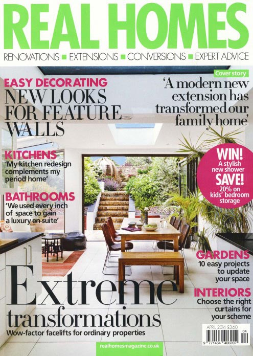Real Homes Magazine April 2014 Cover