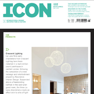 Lighting feature in Icon Magazine