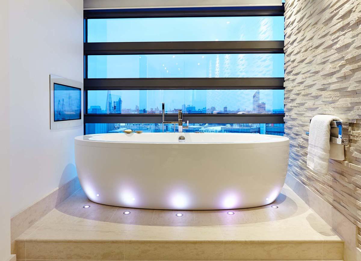 SBID Design Excellence Awards Finalist Master Bathroom