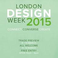 London Design Week 2015 Preview