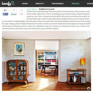 Our modern house project in Homify's feature on library design