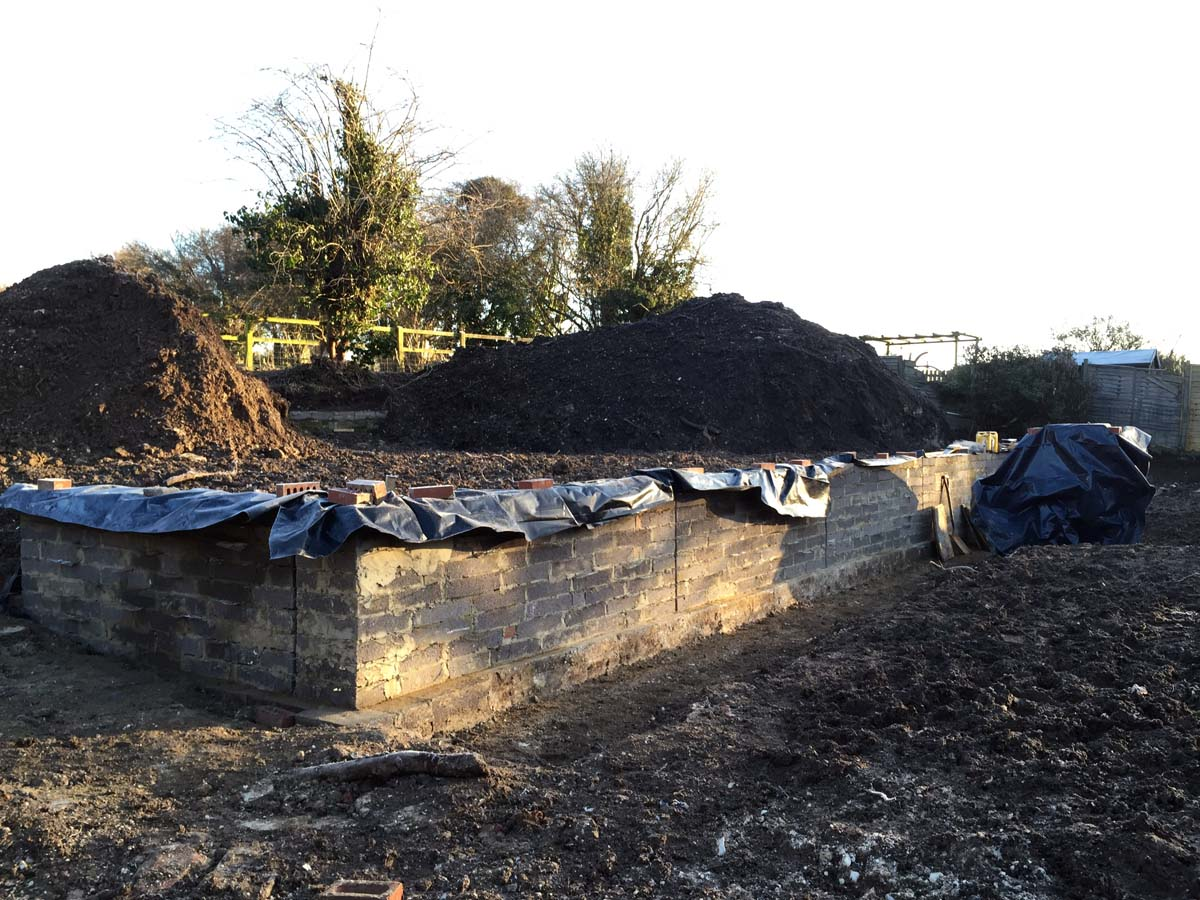 landscape design hampshire wall 2