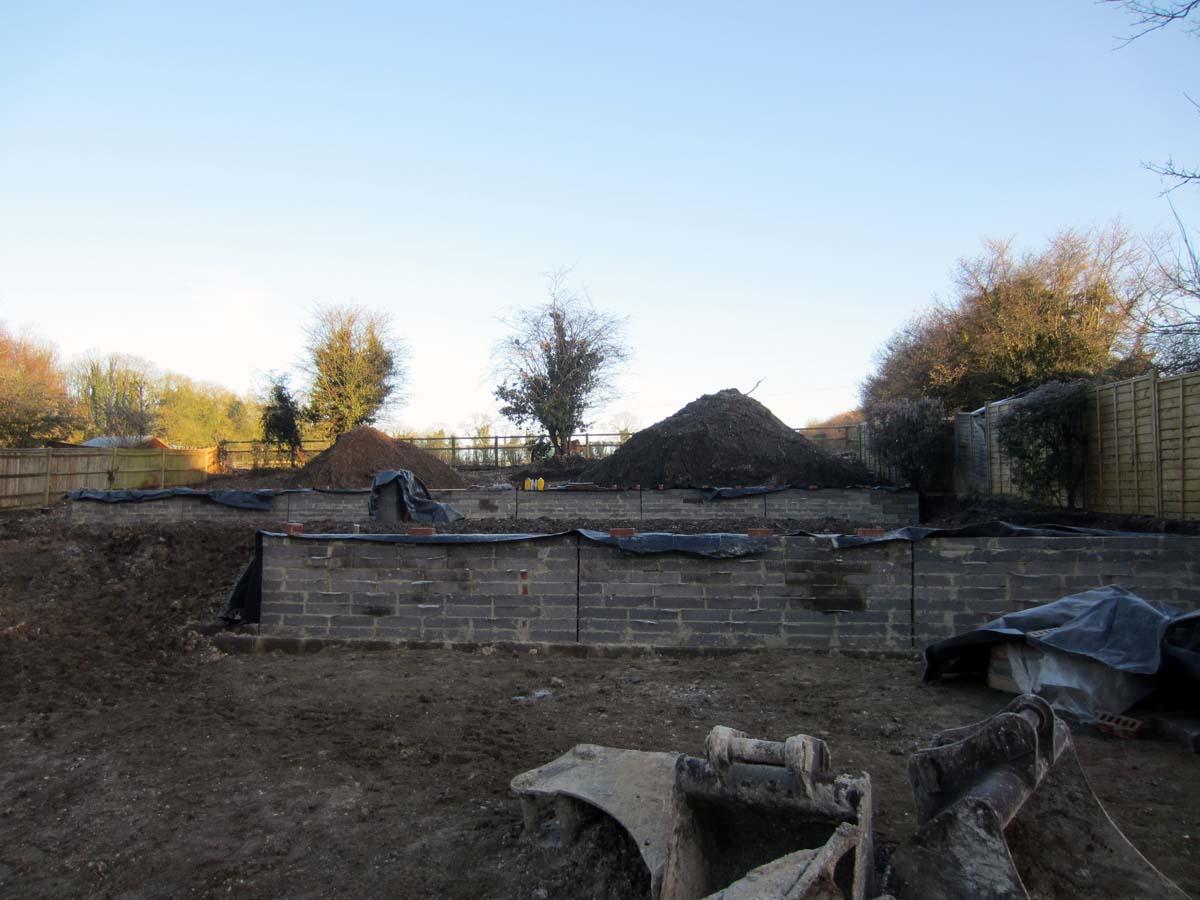 landscape design hampshire wall 4