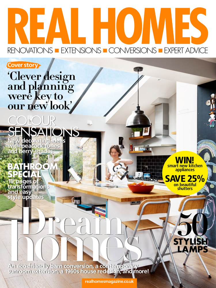 Real Homes Magazine November 2015 Cover