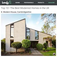 The Best Modernist Homes in the UK… and we're included!