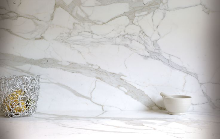 Marble Kitchen Splashback Design in London
