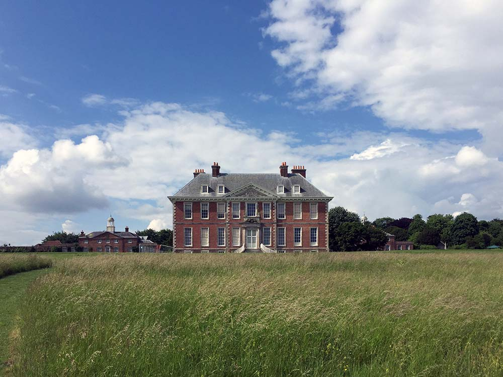 uppark house west sussex front elevation