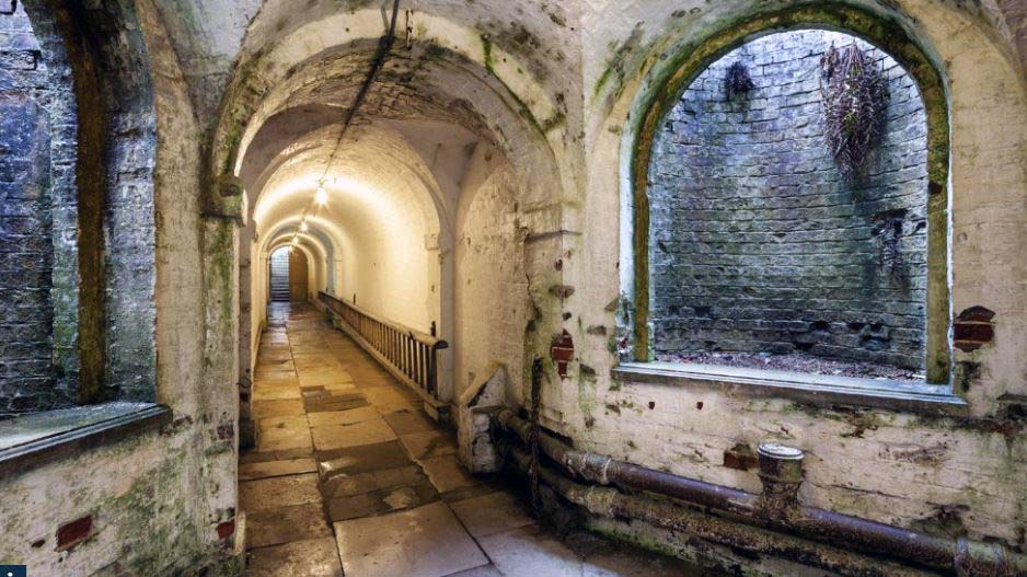 uppark house west sussex tunnels