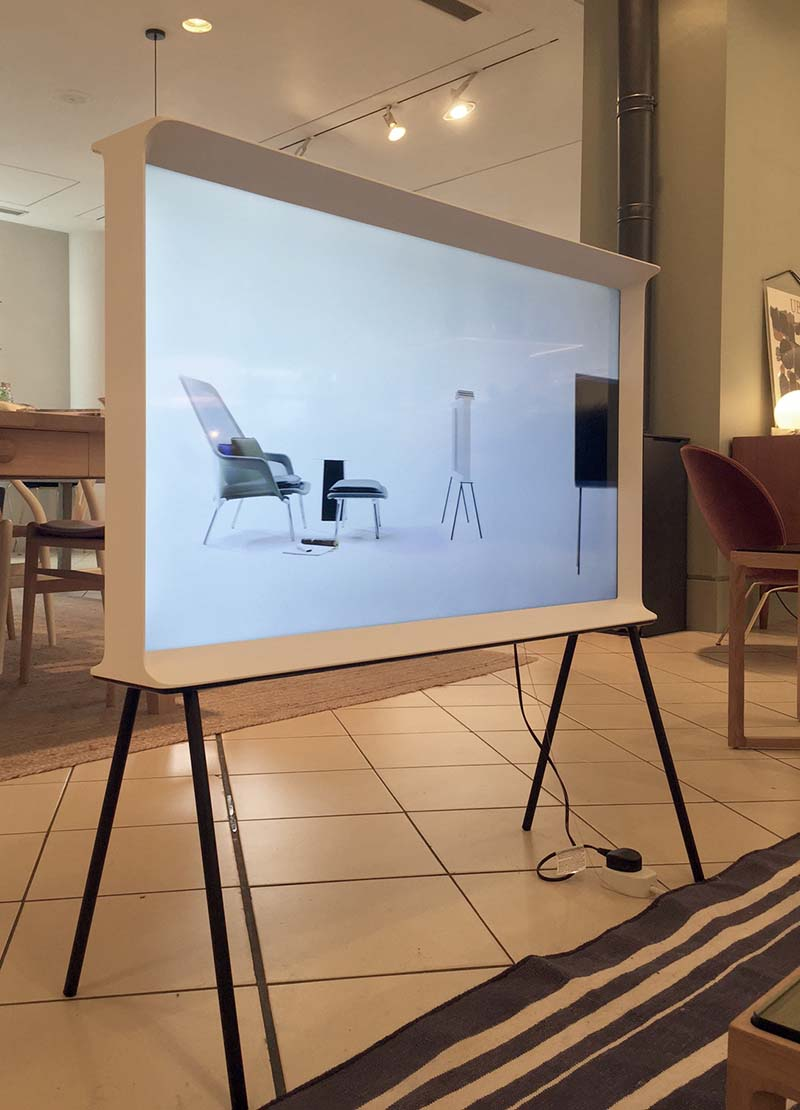 conran kensington london serif tv