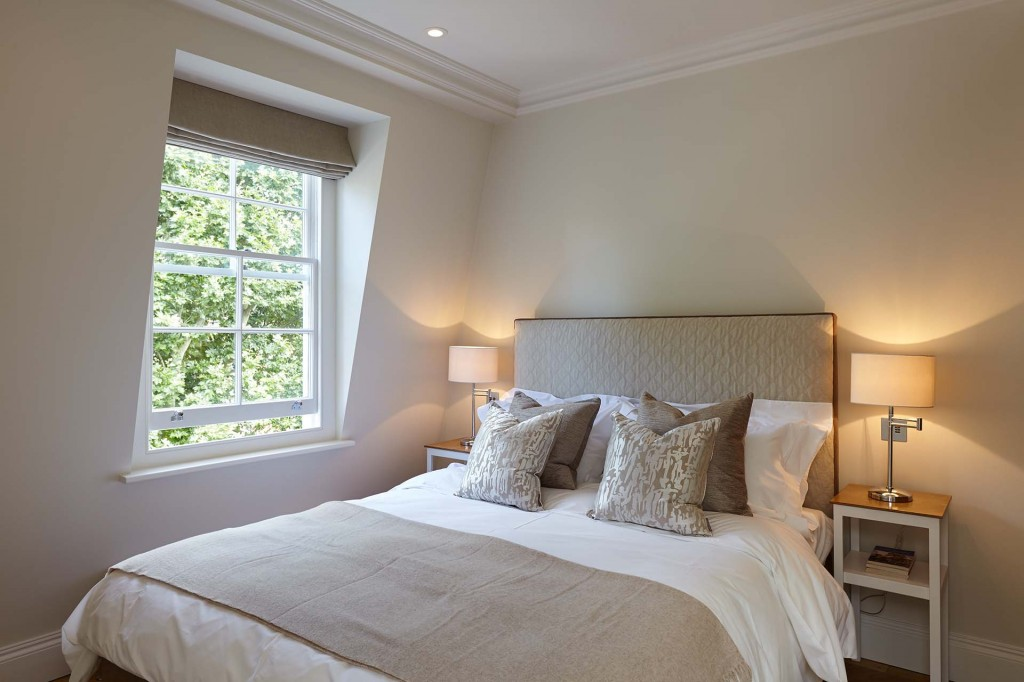 Luxury Bedroom Design in Knightsbridge Kensington London